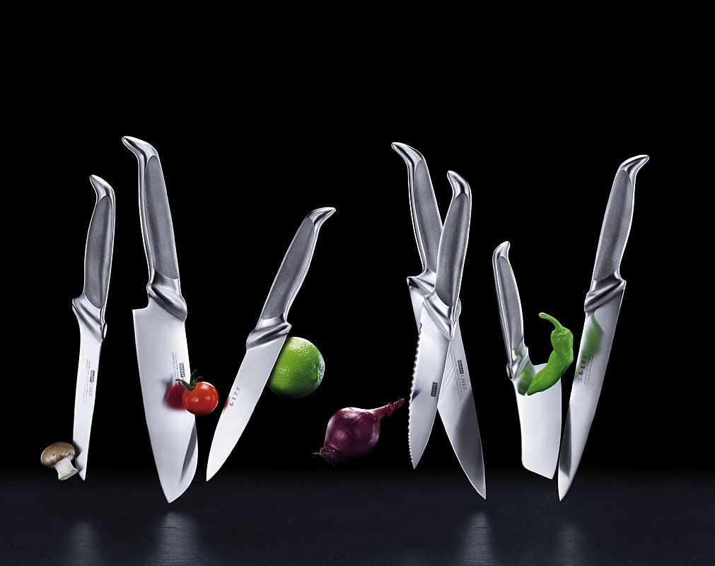 ad photography knives